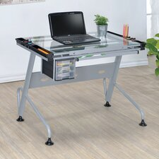 Micah Glass Drafting Table