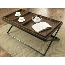 Chet Coffee Table with Tray Top
