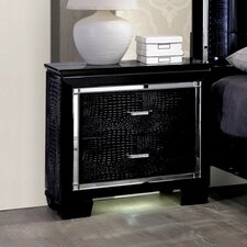 Timsah 2 Drawer Nightstand