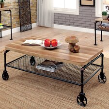 Mayer Coffee Table with Magazine Rack
