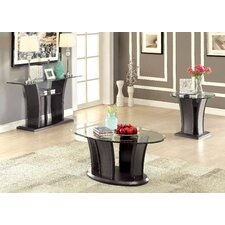 Hailey 3 Piece Coffee Table Set