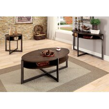 Benito 3 Piece Coffee Table Set