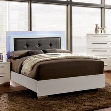 Lumier Upholstered Platform Bed