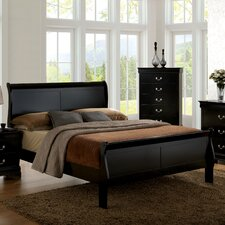 Amal Sleigh Bed