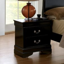 Amal 2 Drawer Nightstand