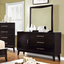 Dionn 3 Drawer Dresser with Mirror