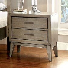 Nyla 2 Drawer Nightstand
