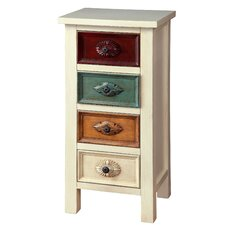 Suri Contemporary 4 Drawer Chest
