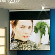 "Luma Matt White 100"" diagonal Electric Projection Screen"