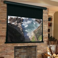 Premier Matte White Electric Projection Screen