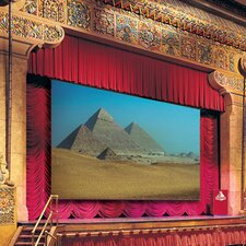Paragon Matte White Electric Projection Screen