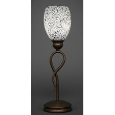 """Leaf 18.5"""" H Mini Table Lamp with Novelty Shade"""