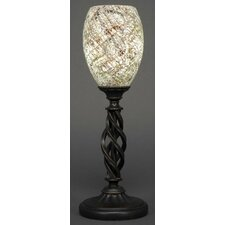 """Eleganté 16.5"""" H Mini Table Lamp with Oval Shade"""