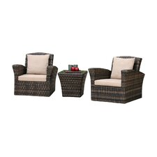 Maui 3 Piece Seating Group with Cushions