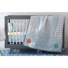 Windowpane Organic Cotton Toddler Pillow Case