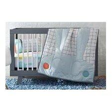 Snuggle Bunnies 3 Piece Crib Bedding Set