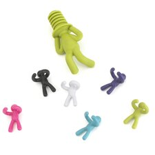 Buddy Wine Charms & Bottle Topper  7 Piece Set