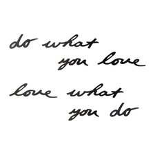 Mantra Do What You Love Wall Décor