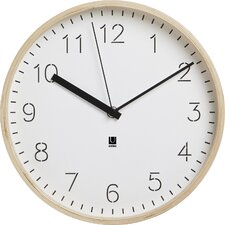 "10"" Rimwood Wall Clock"