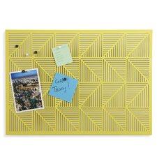 Trigon Wall Mounted Magnetic Bulletin Board