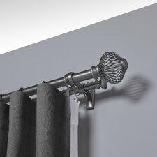 Spokes Double Curtain Rod