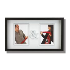 You and Me Two Opening Wall Frame