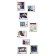 Postal Wall-Mount 9 Piece Picture Frame Set (Set of 9)