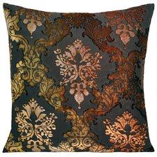 Brocade Velvet Throw Pillow