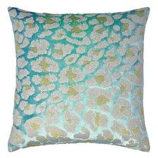 Leopard Metallic Velvet Throw Pillow