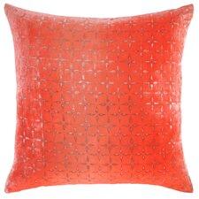 Petal Flower Velvet Throw Pillow
