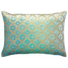 Moroccan Metallic Velvet Lumbar Pillow