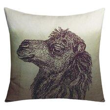 Animals Camel Throw Pillow
