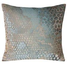 Snakeskin Velvet Throw Pillow
