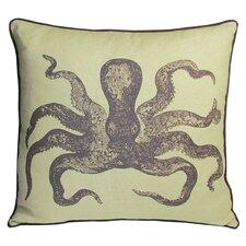 Nauticals Cuttlefish Throw Pillow