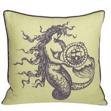 Nauticals Mermaid Throw Pillow