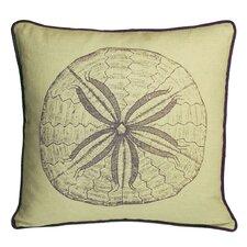 Nauticals Sand Dollar Throw Pillow