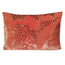 Snakeskin Velvet Lumbar Pillow
