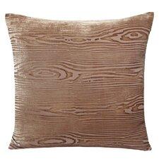 Wood grain Velvet Throw Pillow