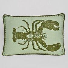 Nauticals Lobster Lumbar Pillow