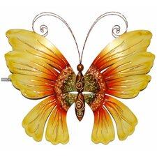 Sunflower Butterfly Wall Décor