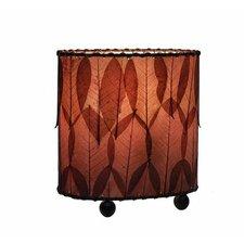 "Mini Guyabano 9"" H Table Lamp with Drum Shade"