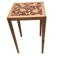 Wood Chips Mosaic End Table