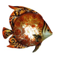 Orange Fish Wall Decor