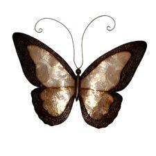 Earthtoned Butterfly Wall Decor