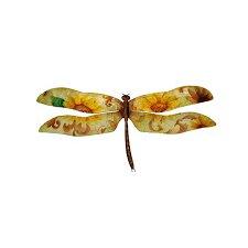 Dragonfly Sunflowers Wall Décor