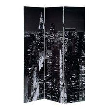 4-tlg Raumteiler Empire State Building, 180 cm x 160 cm