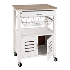 Küchenwagen Dow mit Holzplatte