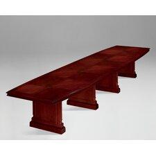 Keswick Expandable 17.67' Boat Shaped Conference Table