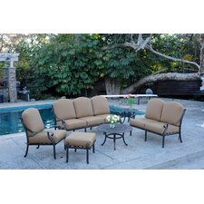 Kingston 6 Piece Deep Seating Group with Cushions