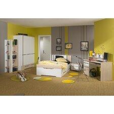 Anpassbares Schlafzimmer-Set Titouan, 90 x 190 cm